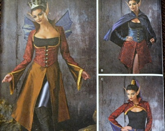 Sewing Pattern  Simplicity 1138 Fairy Costumes Bust 30-34 inches  Uncut Complete Factory Folds