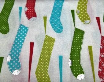 Christmas Stockings - fat quarter cotton