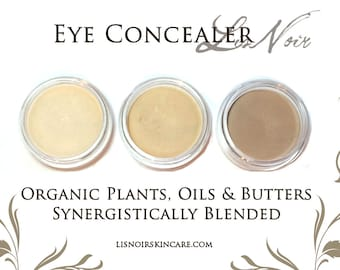 Organic Eye Cream For Dark Circles Puffy Eyes Choose Shade