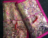 DIDORI hexagon confetti TRAVELER'S NOTEBOOK fauxdori
