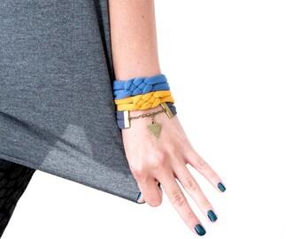 Alexa Cuff // Knotted Bracelet // Sailor Knot Bracelet // Celtic Knot Cuff