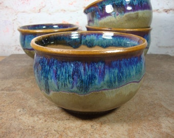 Earthy Stoneware Soup Bowl - your choice