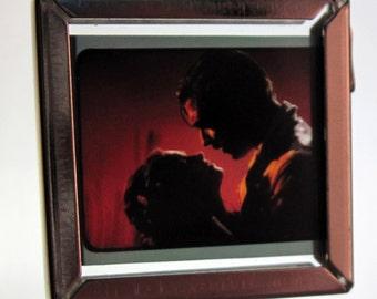 Gone with the Wind Necklace - Recycled Movie Film - Rhett & Scarlett