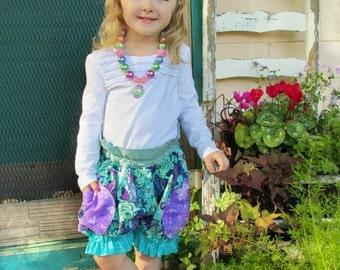 SALE Girls Shorts Pattern Tutorial - Puffer Shorts - 3m-16 girls PDF Instant