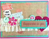 Valentine Greeting Card -- Insta Love  (Valentine 2016 Collection no. 18)