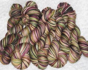 Handpainted Sock Yarn - Superwash Merino Wool