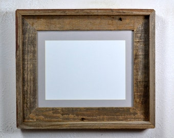 5x7,4x6 or 8x6 mat in farmhouse style picture frame 8x10 without mat 20 mat colors to choose from handmade from rustic recycled wood