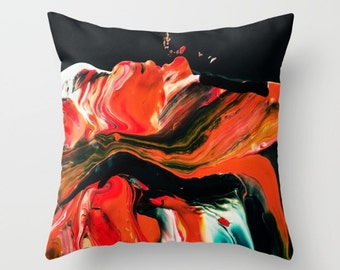 Decorative pillow cover - Pillows for couch - Pillow cover - Original pillow cover - paintings pillow