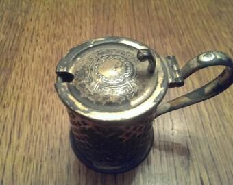 Antique Silver Knickerbocker Mustard Pot