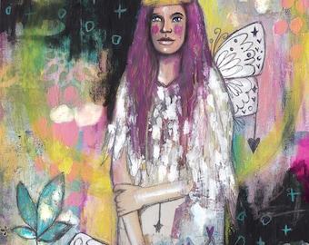 Queen of Herself - Art Print