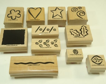 Bold Basics Stamp Set From Stampin Up 103178