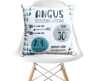 Tribal Triangle Birth Cushion