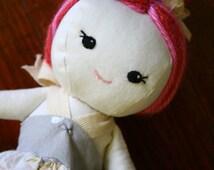 Cloth Heirloom Doll OOAK