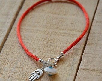 Red String Evil Eye Protection Bracelet
