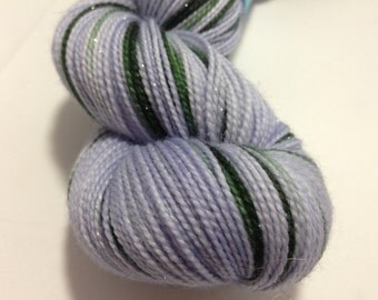 Lavender & Pine - Dyed to Order - Hand Dyed - Merino Wool Yarn - Fingering Weight