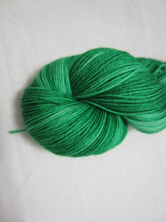 Emeralds - Dyed to Order - Hand Dyed - Merino Wool Yarn - Fingering Weight