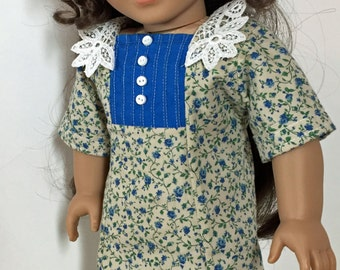 Lady Lilly's Afternoon Tea Dress and Hat, 18 Inch Doll Clothes