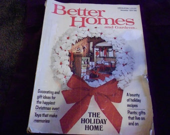 Better Homes and Gardens December 1973