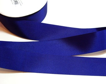 Blue Ribbon, Offray Light Navy Blue Grosgrain Ribbon 1 1/2 inches wide x 10 yards, Offray Finesse Ribbon