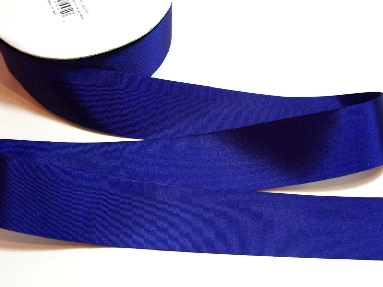 Blue Ribbon Offray Light Navy Blue Grosgrain Ribbon 1 1/2  Blue Ribbon Off...