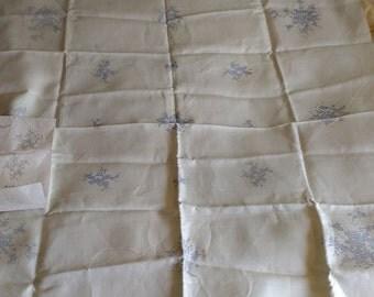 Vintage Tablecloth Cross Stitch