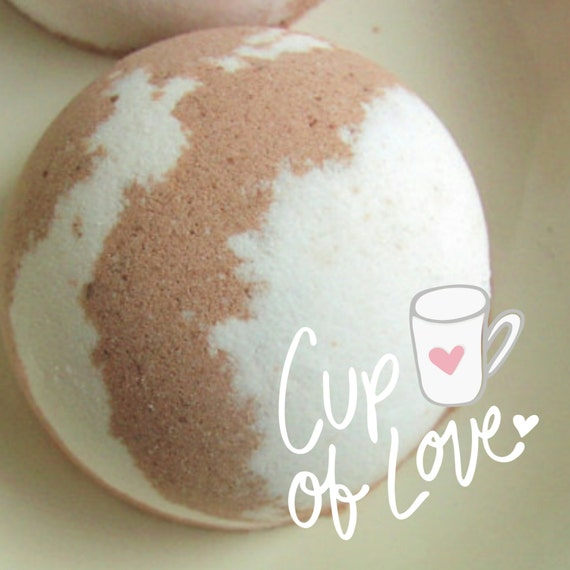 Bath Bomb. HOT CHOCOLATE Bath Bomb, Christmas Stocking Stuffer. Gift for Her.Teen Girl Gift, For Teens, Mom Gift, Favorite. Chocolate lovers