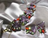 Vintage Selro Bracelet Set Unusual