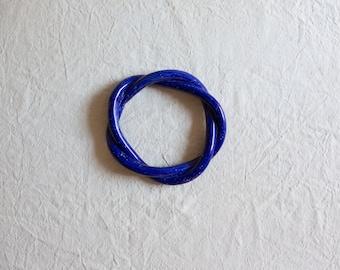 50% OFF - SECONDS SALE - Cobalt Blue - Twisted Trivet