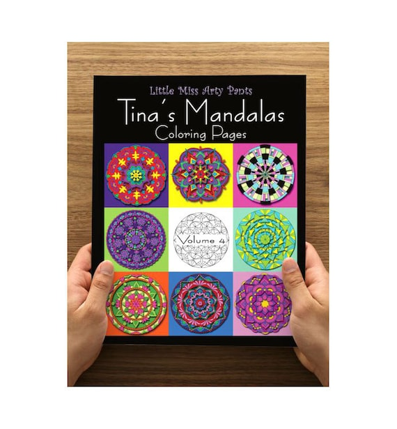Mandala Coloring Book Printed Coloring Pages In Folder