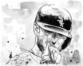 Chicago White Sox Brett Lawrie - Original Illustration