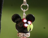 MOTHERSDAY SALE-A-Bration Tropical Minnie Mouse Style Magical Zipper Pull or Charm Disney Inspired DeSIGNeR Accessory