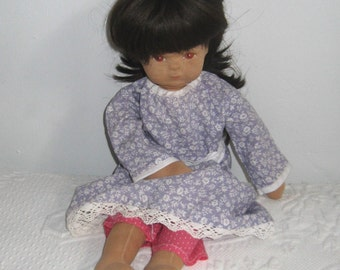 doll . stocking doll . handmade doll . German doll