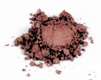 Russet - Mineral Blush - 10 Gram Jar - Vegan Makeup - Cruelty Free Makeup - All Natural Makeup - Shimmer Blush - Maine Made