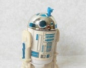 Vintage Star Wars R2-D2 Action Figure 1977 Sensorscope intact