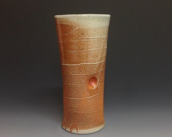 Tumbler. Pilsner Beer Cup. Soda Fired. (#1)