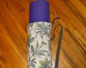 Yoga Mat Bag / Blue Floral Mat Bag / Yogini Mat Bag / Yoga Tote / Yoga bag / Pilates Mat Bag