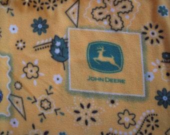 John Deere  NoSew Fleece Blanket