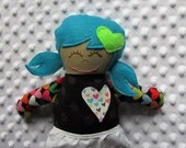 Eden Small Handmade Fabric Baby Doll