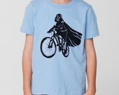 Darth Vader Is Riding It - Toddler / Youth American Apparel T-shirt ( Star Wars tshirt )