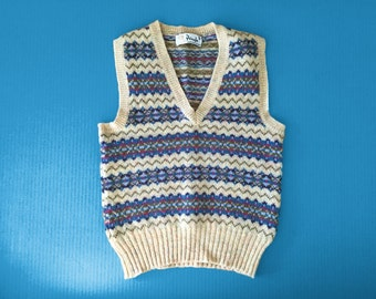 70s PRINGLE VEST, made in Scotland