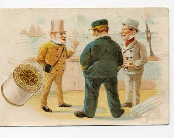 Victorian Trade Card - Thread Advertising - J. and P. Coats - Late 1800's