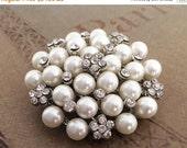 50% OFF Rhinestone brooch, crystal brooch, wedding brooch, rhinestone brooch pin, crystal pin brooch