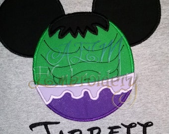 Personalized Hulk Mousehead Unisex Shirt Version 1