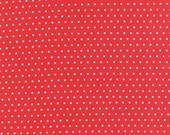 In Stock! - Vintage Picnic (55128 11) Spot Red by Bonnie & Camille - cut options available