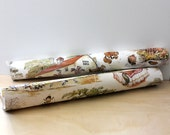 RESERVED for JO    1970s Thelwell Ponies wallpaper. Rare. Two rolls of classic equestrian cartoons.