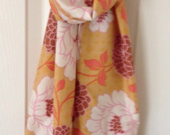 Floral Rayon Scarf