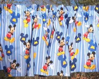 Mickey mouse curtain | Etsy
