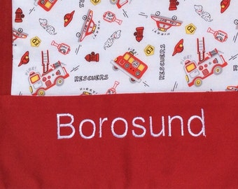 Personalize a Baby Blanket, Custom Machine Embroidery, Customized Baby Blanket