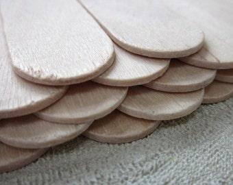 20 Wide Wooden Craft Sticks