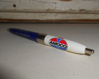 Vintage Amoco Advertising Pen, Amoco Chester Illinois